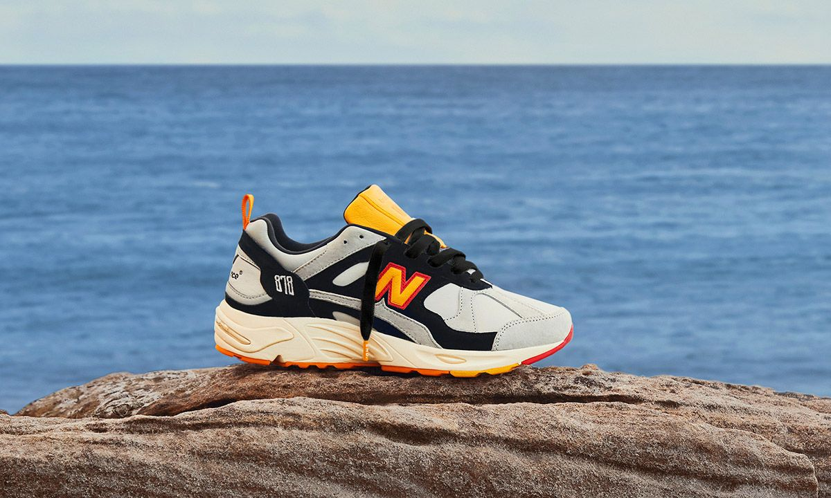 END. & New Balance Celebrate Classic British Seaside Life With Their Latest Collab