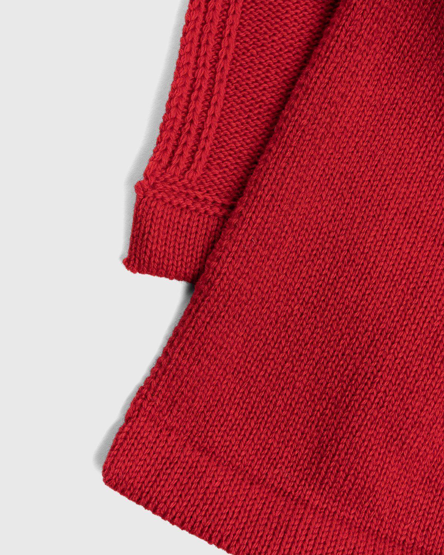 Jil Sander – Plastron Bib Red - Image 4