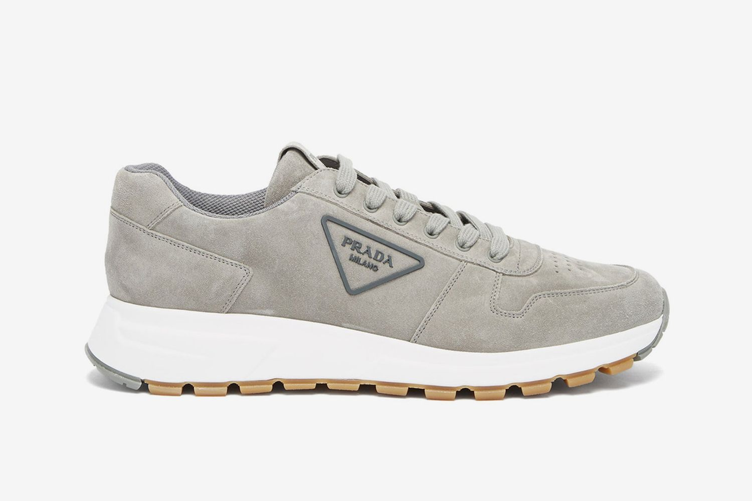 Triangle Logo Sneakers