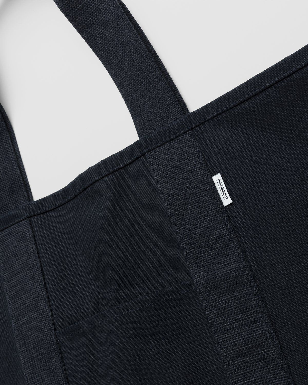 Highsnobiety – Heavy Canvas Large Shopper Tote Black - Image 4