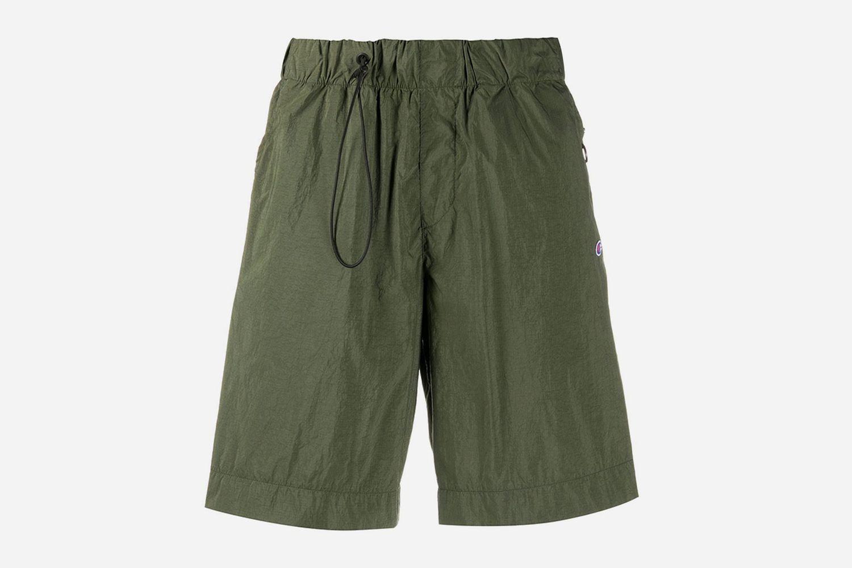 Drawstring Bermuda Shorts