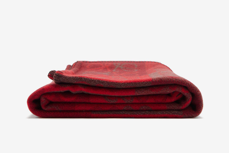Anagram Wool-Blend Blanket