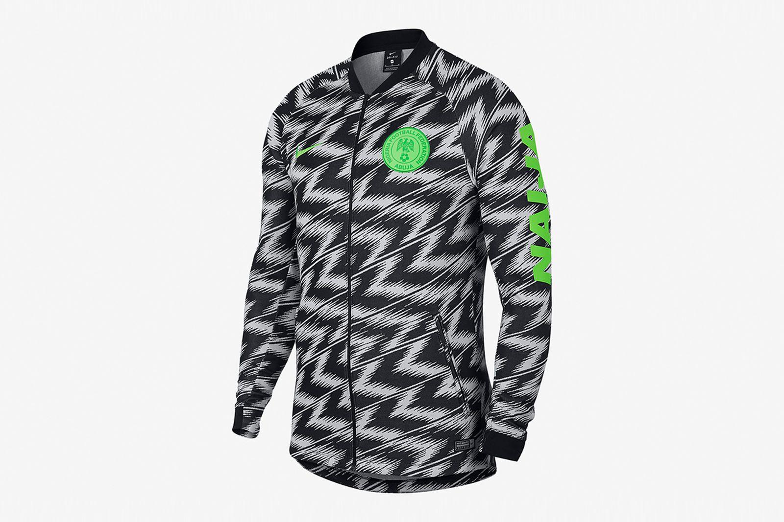 nigeria anthem jacket 2018 FIFA World Cup nigeria football kit