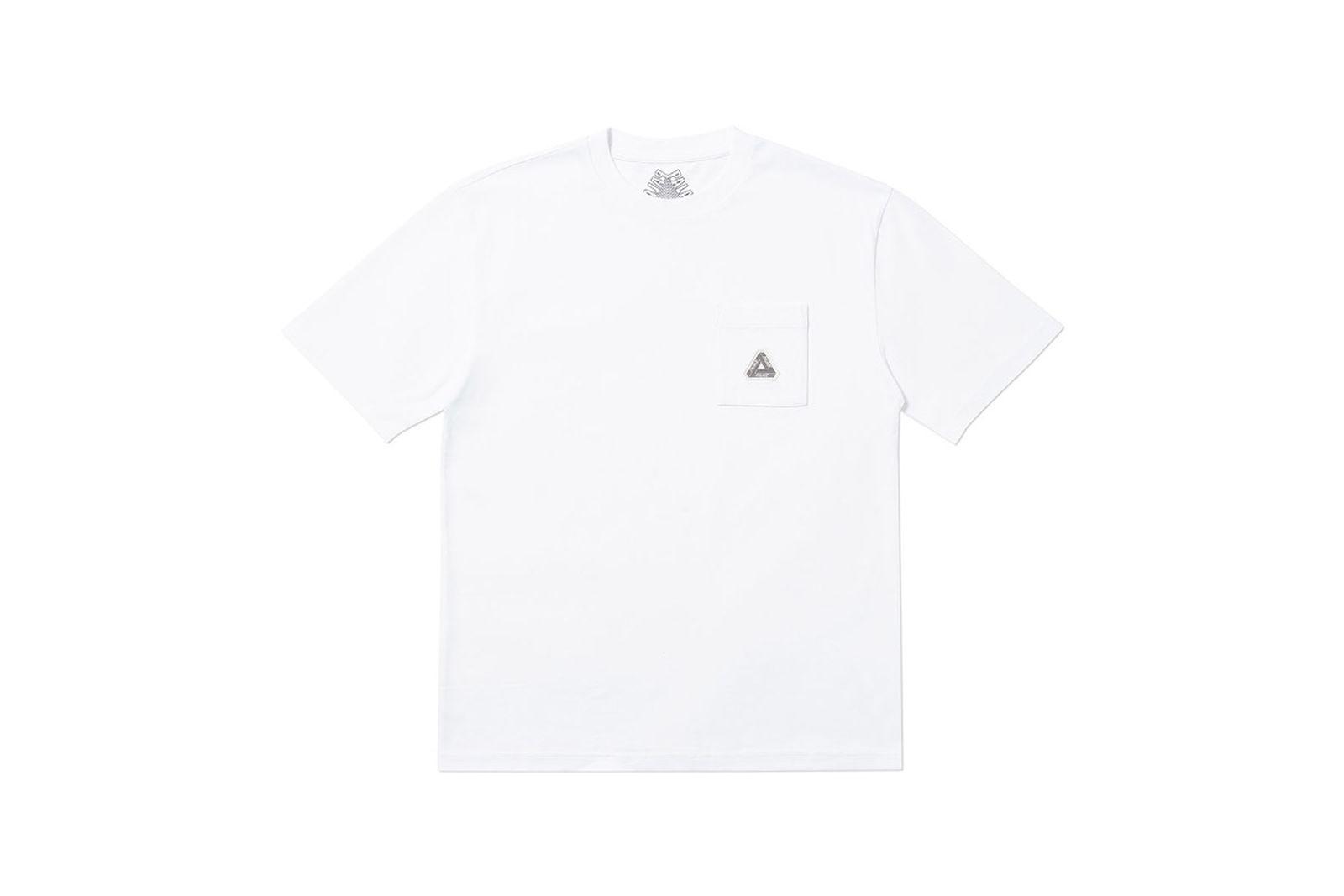 Palace 2019 Autumn T Shirt Pocket white