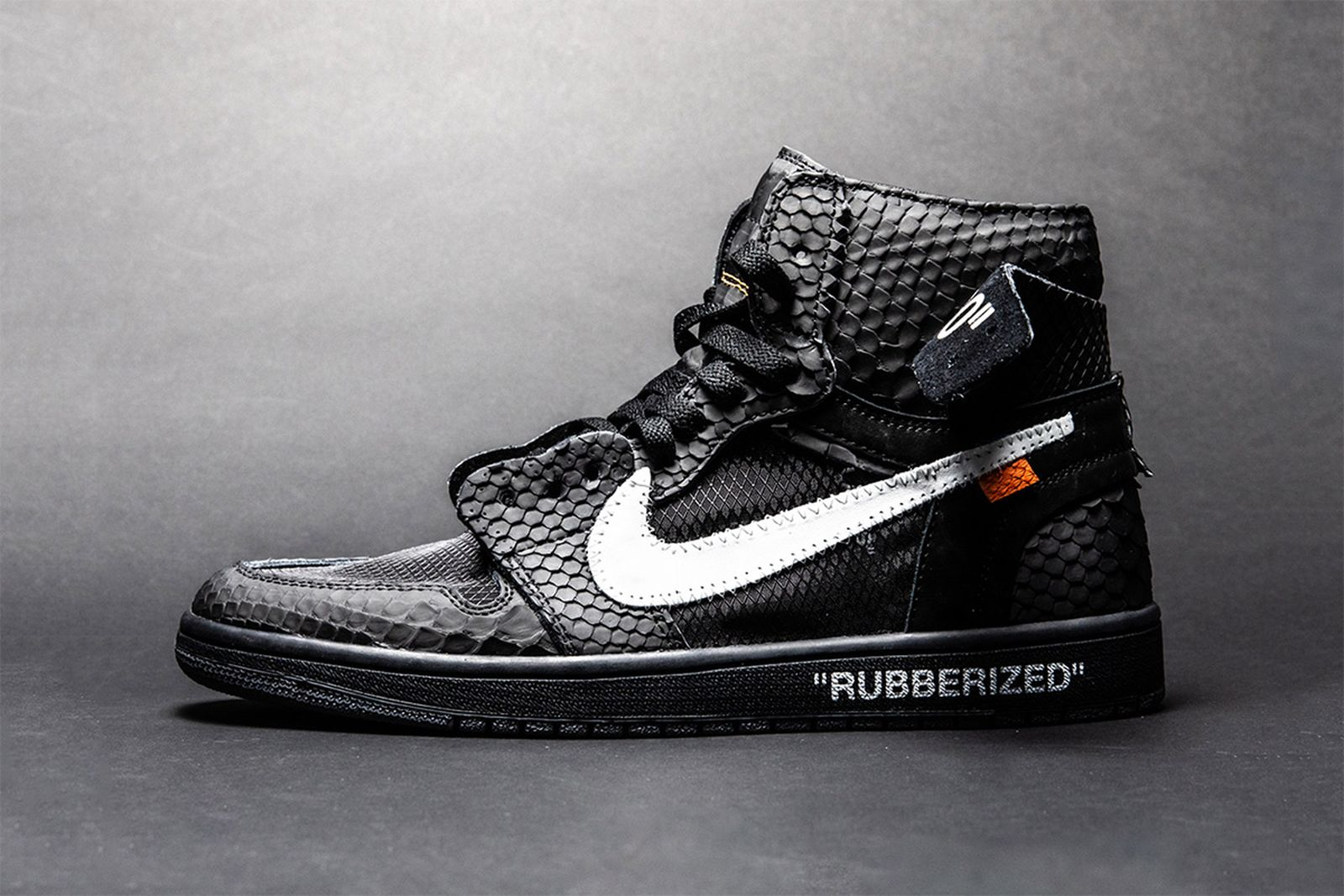 Take A Look At The Shoe Surgeon S Lux Rubberized Python Aj1