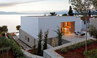 House on Krk Island, Croatia by DVA Architects
