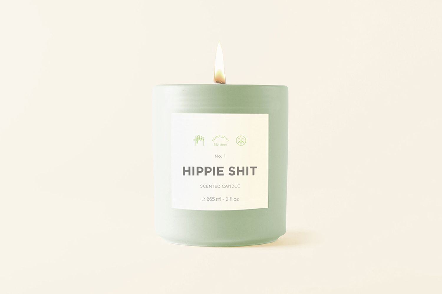 Hippy Shit Candle