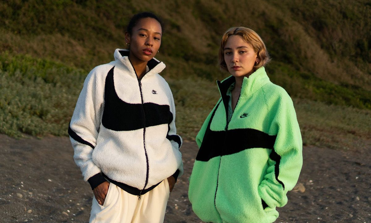 Nike Proves the Bigger the Swoosh the Better the Jacket