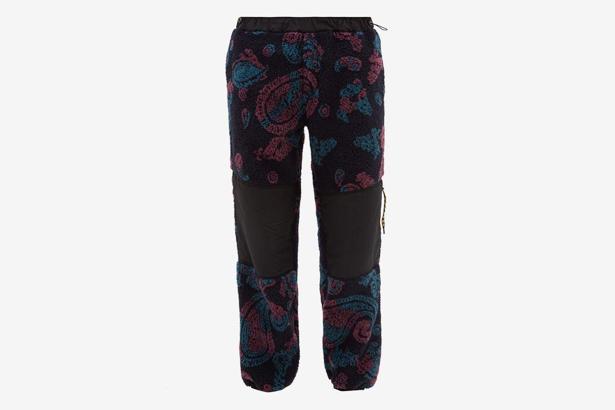 Paisley Fleece Track Pants