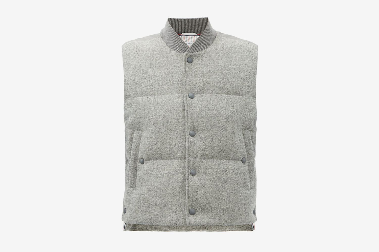 Panelled Quilted Down Gilet