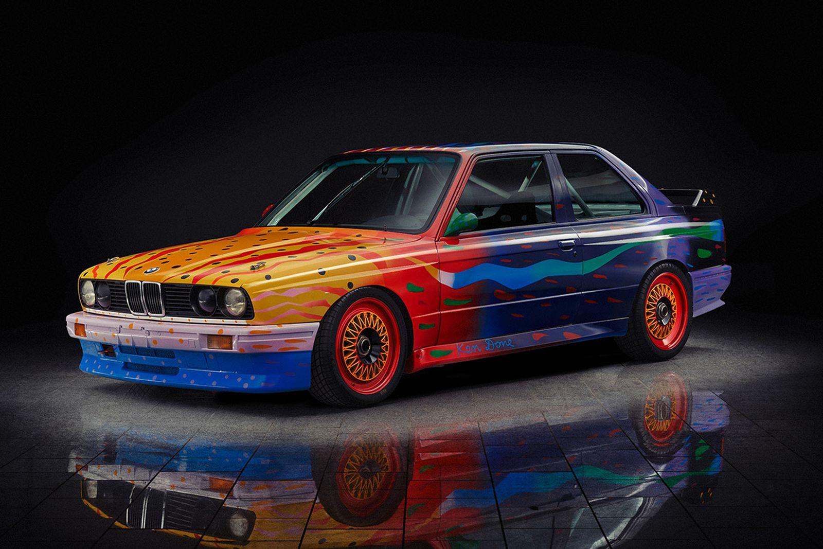 BMW Art Car 08, Ken Done, 1989