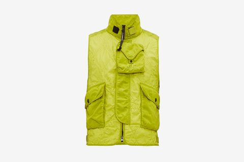 Multi Pocket Quilted Gilet