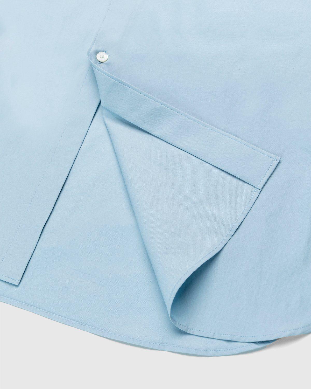 Auralee – Twill Shirt Blue - Image 4