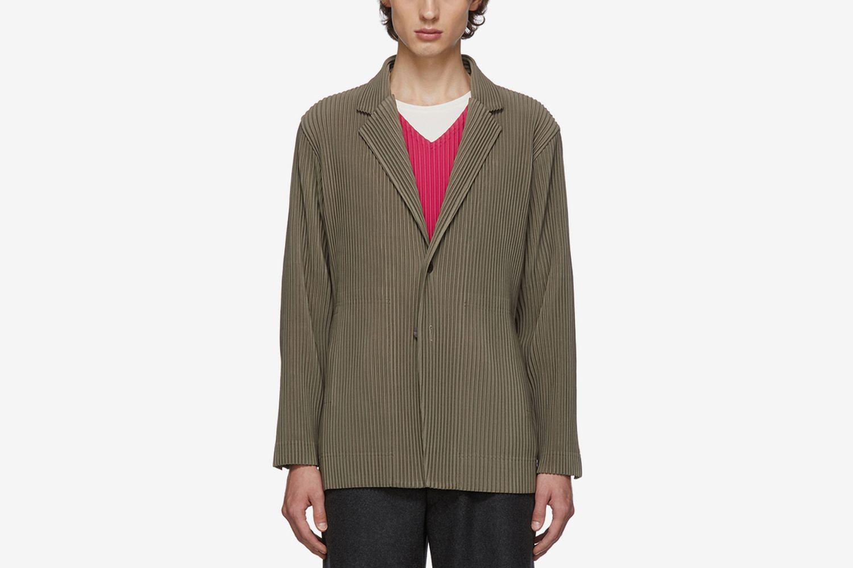 Pleats Tailored Blazer