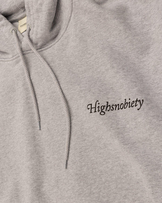 Highsnobiety – Paradise Cartoon Hoodie Grey - Image 4