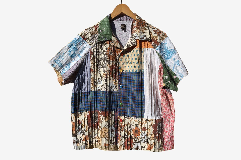 Patchwork Raglan Shirt