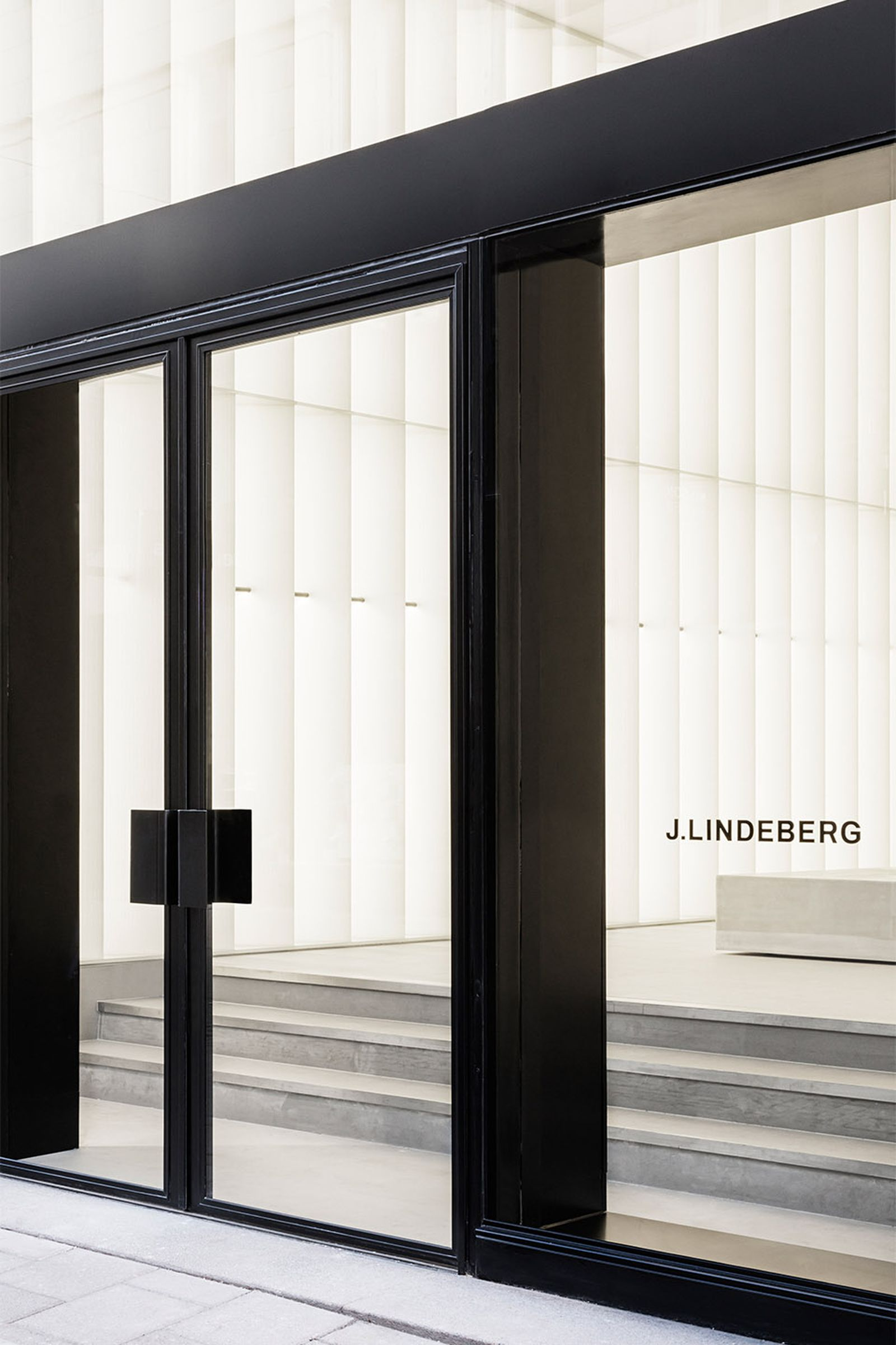 j lindeberg flagship store reopens