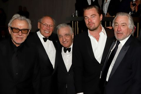 Leonardo DiCaprio Robert De Niro Martin Scorsese