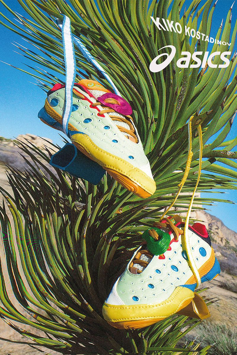 Kiko Kostadinov & ASICS Unveil Their Funkiest Collab Yet 4