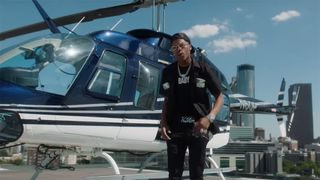 "Lil Baby helicopter ""Back On"" music video"