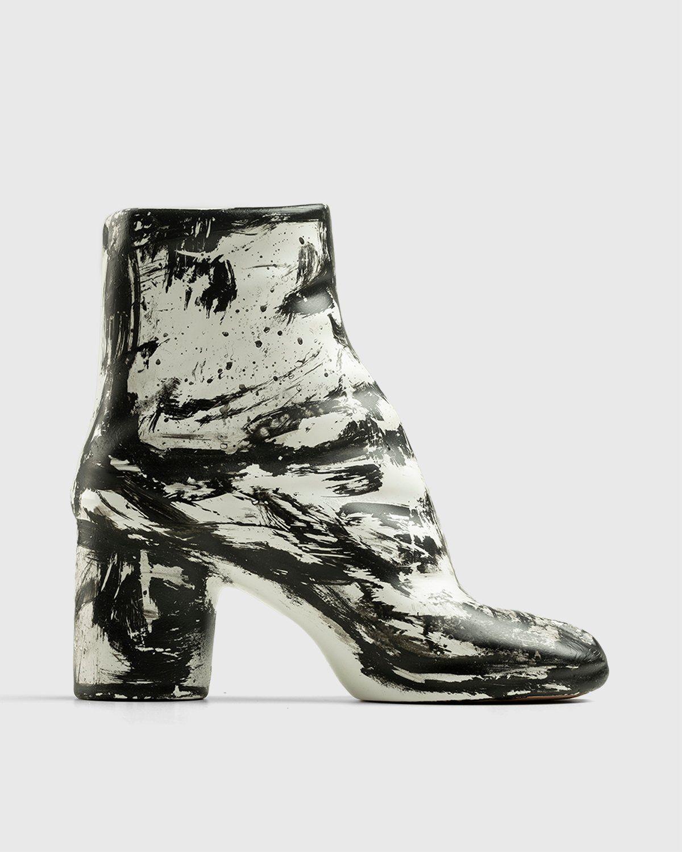 Idea Generale – Tabi Vase Matte Black White - Image 1