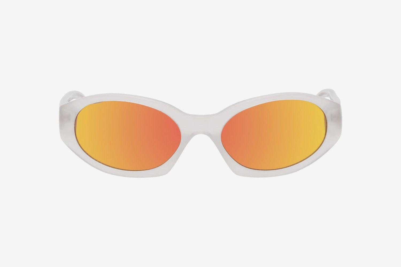 Linda Farrow Edition Oval Sunglasses