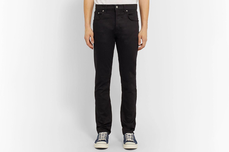 Grim Tim Slim-Fit Organic Denim Jeans