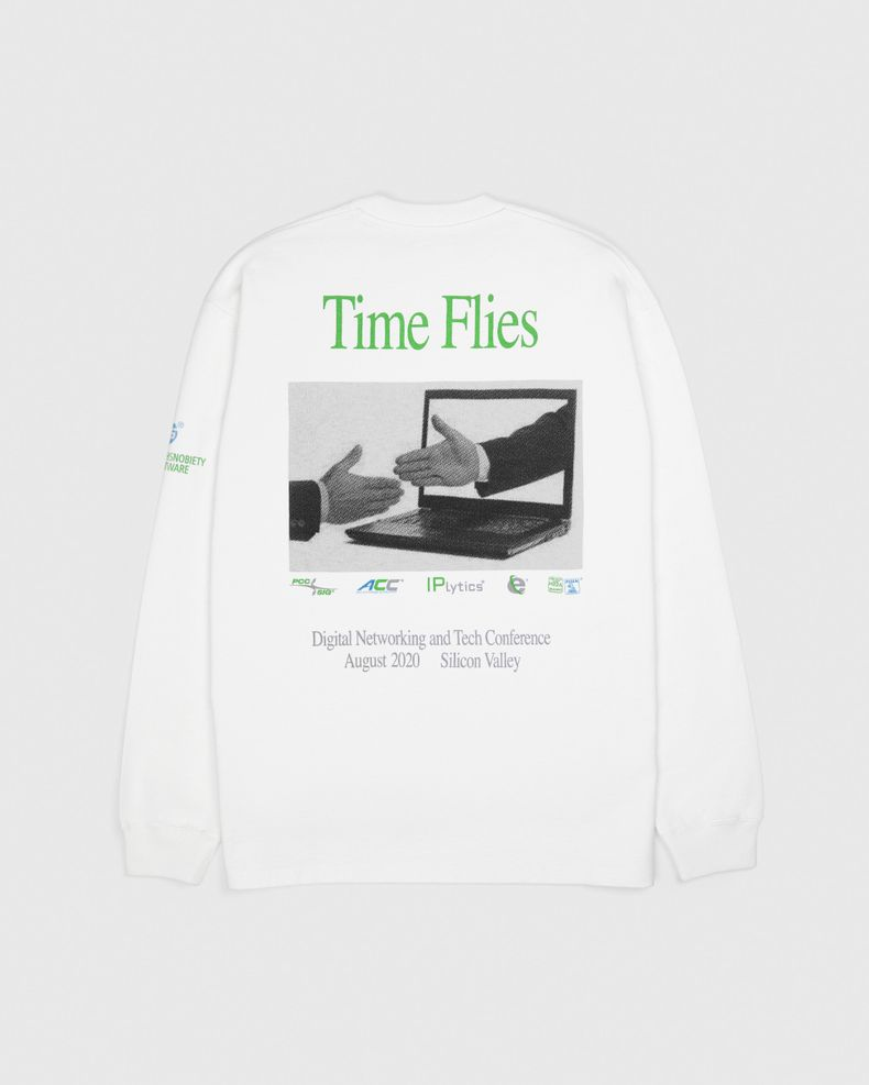 Highsnobiety —This Never Happened Tech Convention T-Shirt White