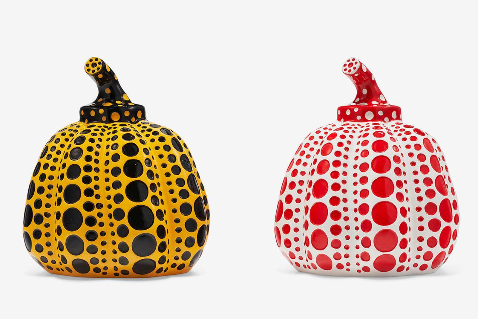 Yayoi Kusama - Yellow Pumpkin & Red Pumpkin