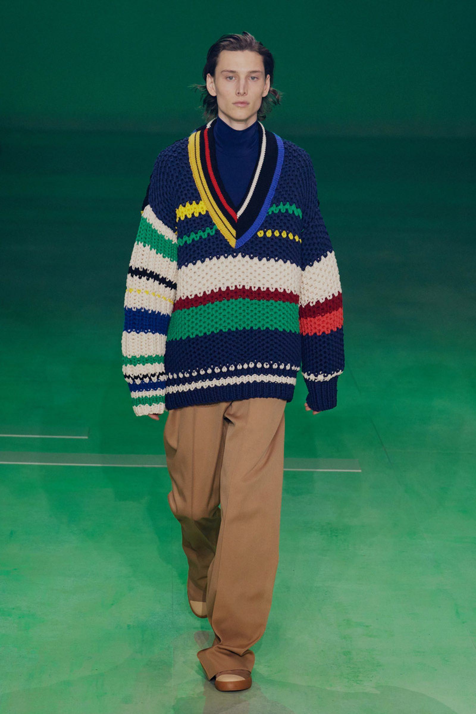 lacoste fw19 pfw Louise Trotter runway