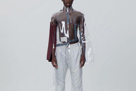 Tailored Translucent Half Jacket