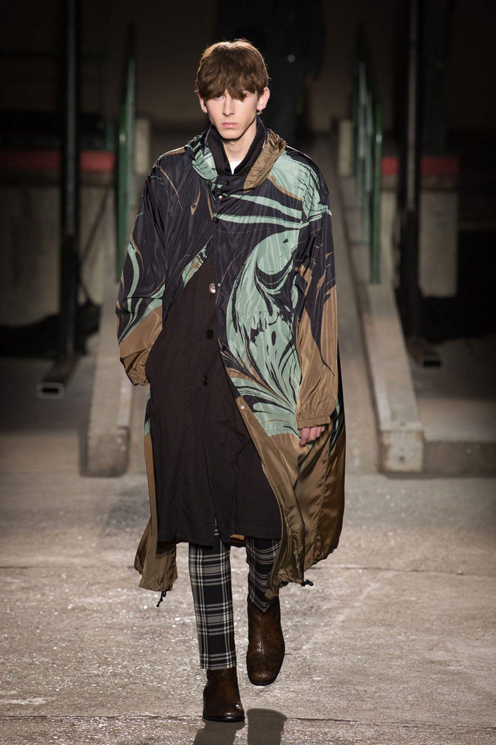 dries van noten AW18 19 look036 fashion week 2018 paris fashion week runway