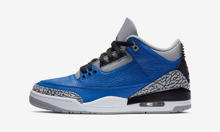 "Air Jordan 3 ""Blue Cement"""