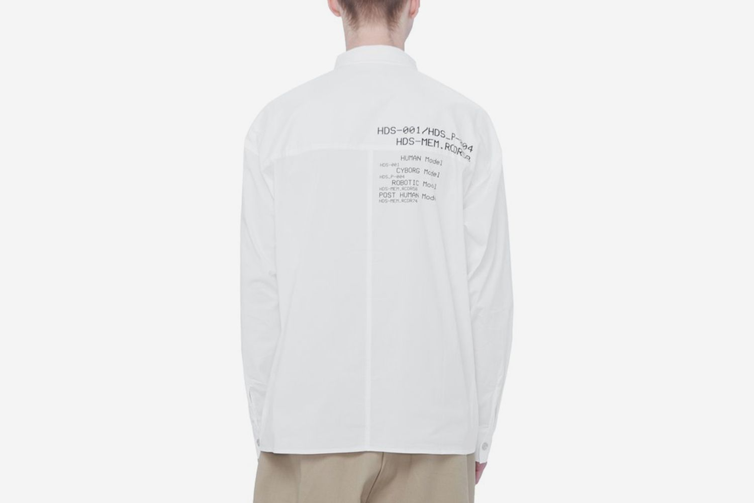 Instruction Print Shirt