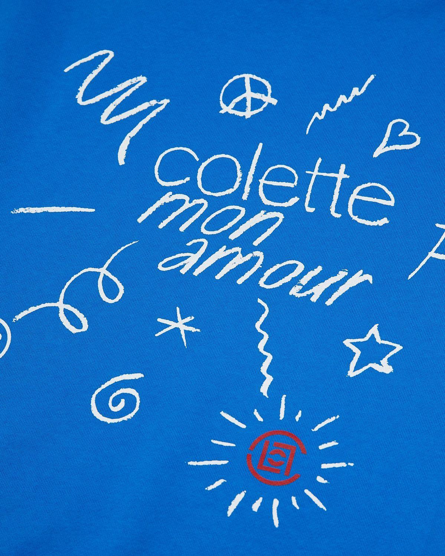 Colette Mon Amour x CLOT — Blue T-Shirt - Image 4