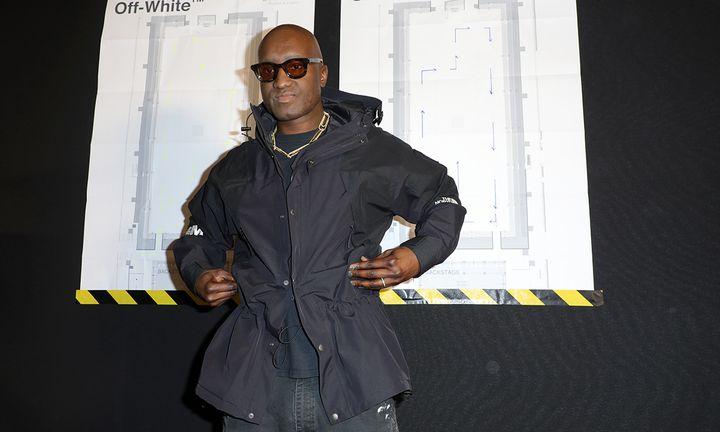 Virgil Abloh jacket sunglasses