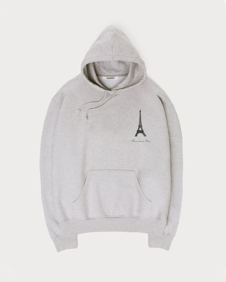 Not In Paris Presented By Highsnobiety - Hoodie Grey