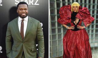 50 Cent Backs Nicki Minaj in Row with Cardi B & Steve Madden