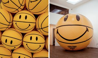 Chinatown Market's Smiley Basketball Exhibition Takes Over LA
