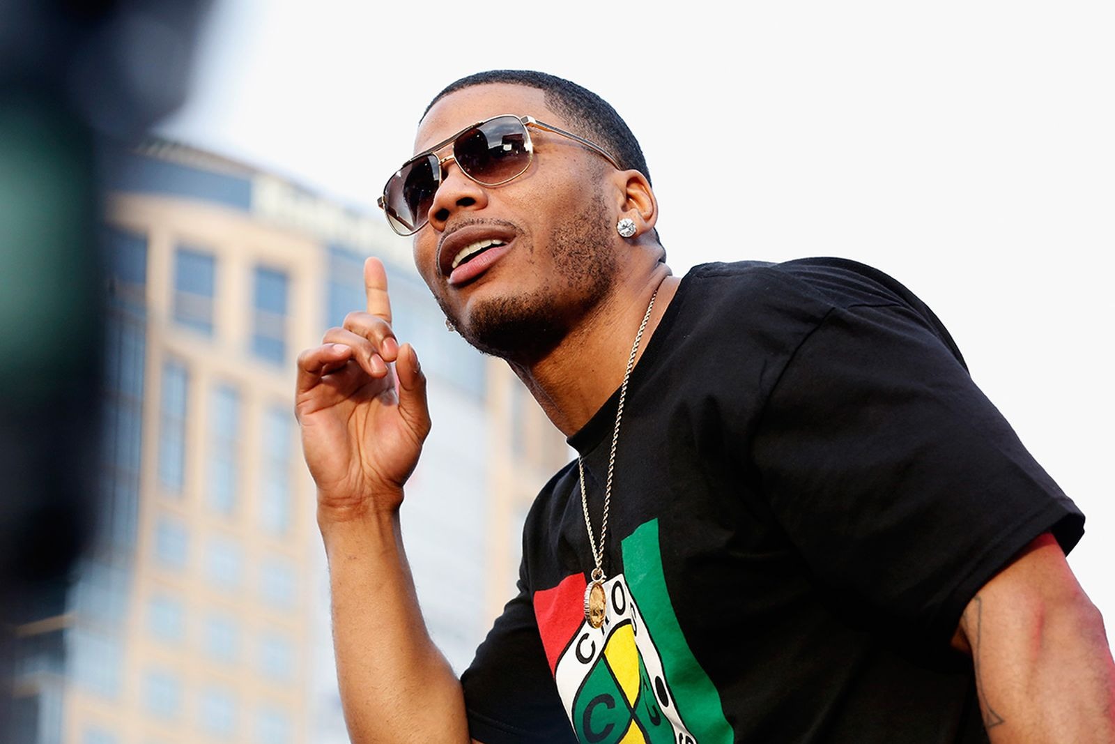 Nelly performs at Bud Light House of Whatever,