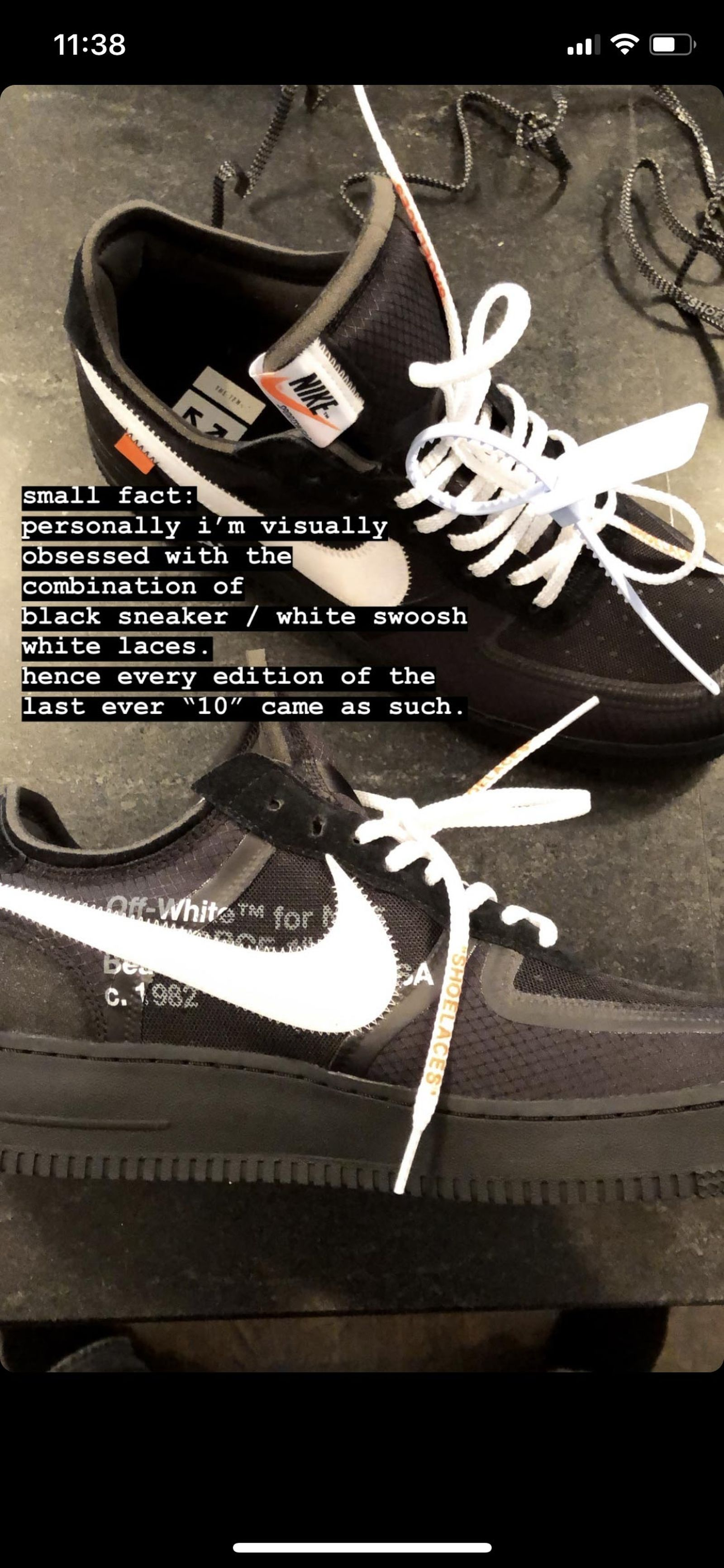 virgil abloh confirms nike ten collab ending Nike The Ten
