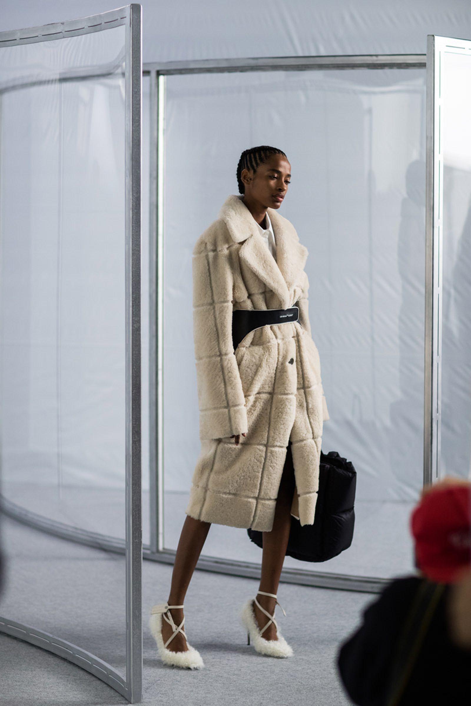 off white fw19 his hers pfw show OFF-WHITE c/o Virgil Abloh paris fashion week