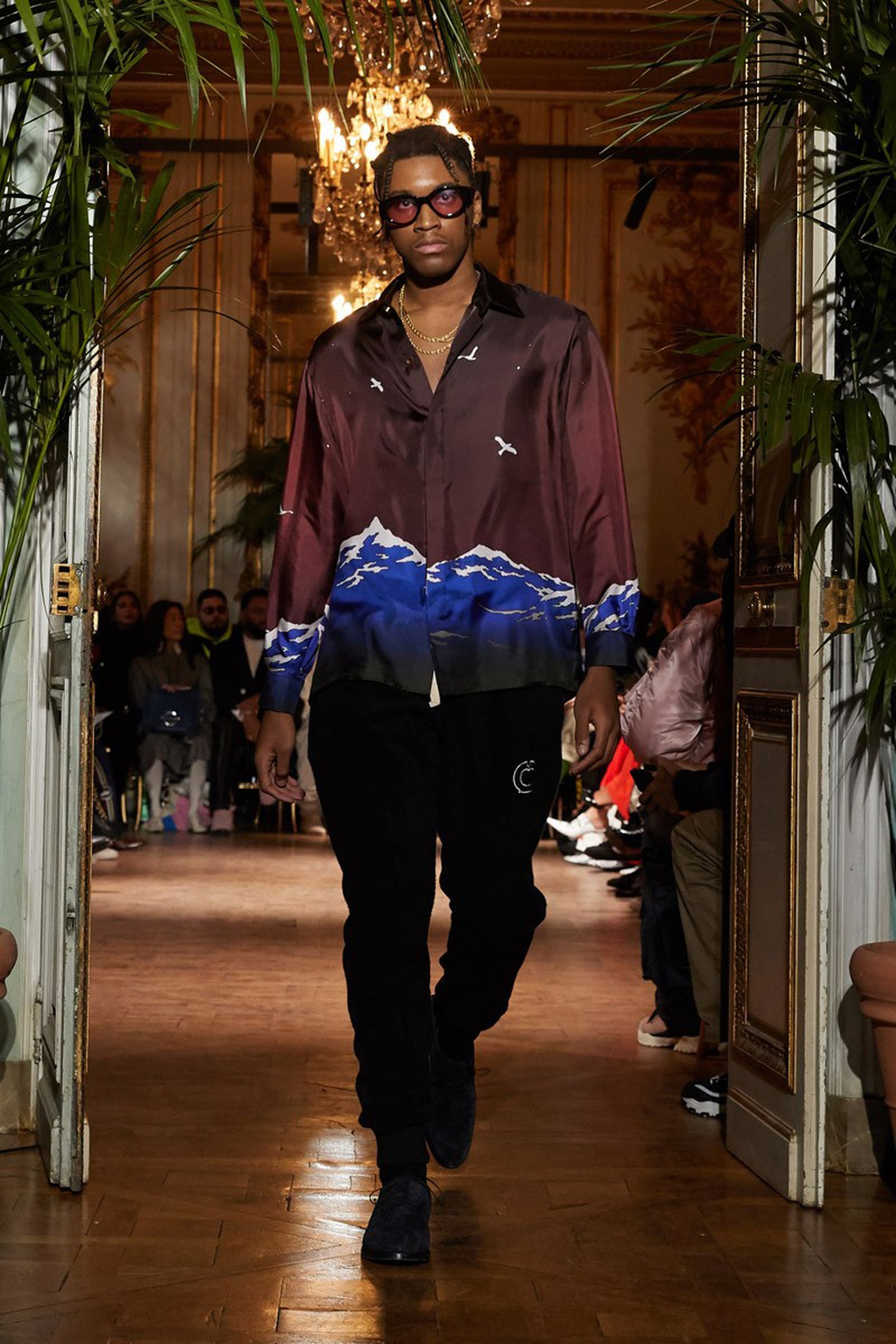 casablanca fall 2019 silk shirts 1