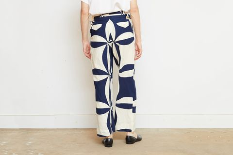 Side Tie Trousers