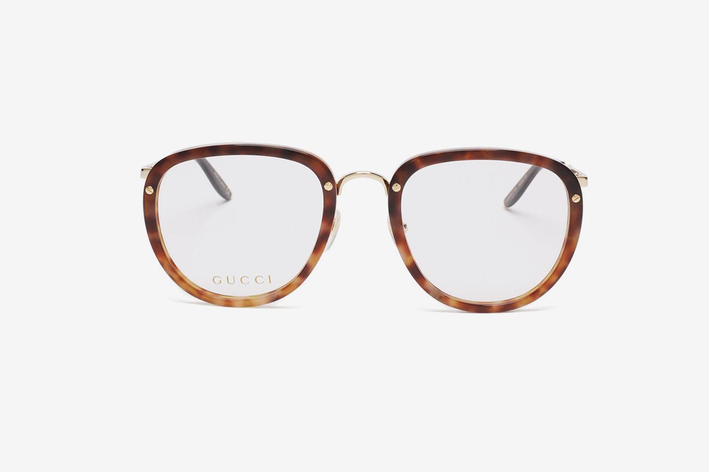 Round Tortoiseshell-Acetate Glasses