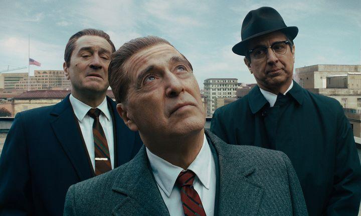 Robert De Niro Al Pacino Ray Romano The Irishman