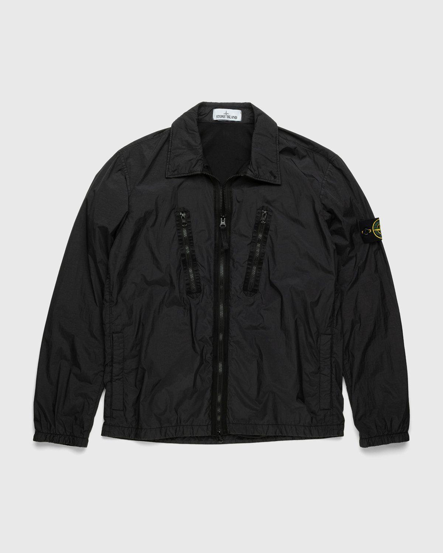 Stone Island – Overshirt Black - Image 1
