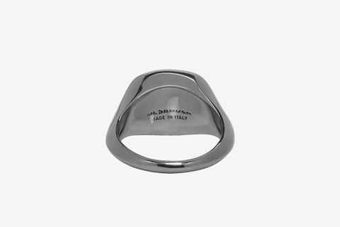 Gunmetal Signet Ring