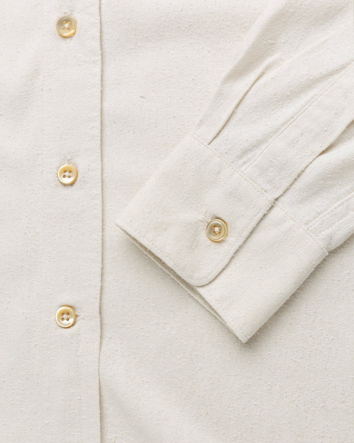 Our Legacy – Classic Shirt White Silk - Image 6