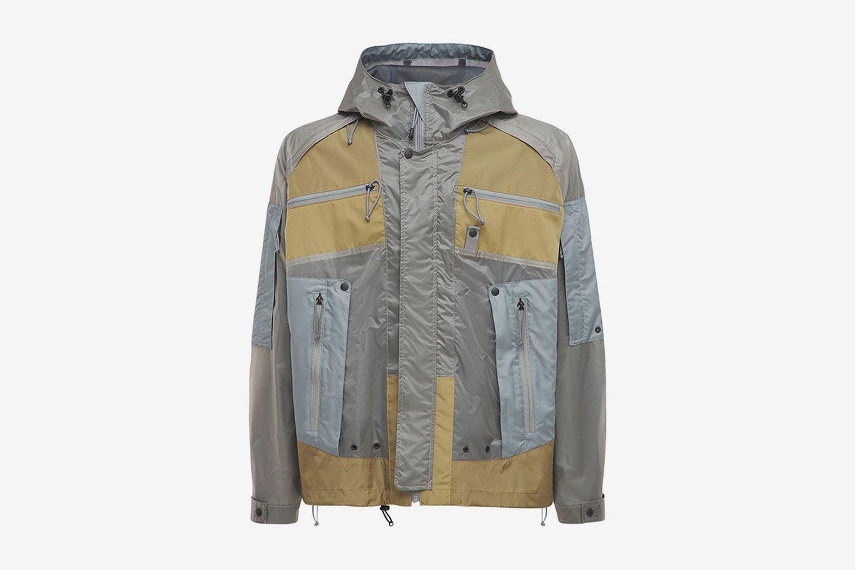Nylon Parka Coat